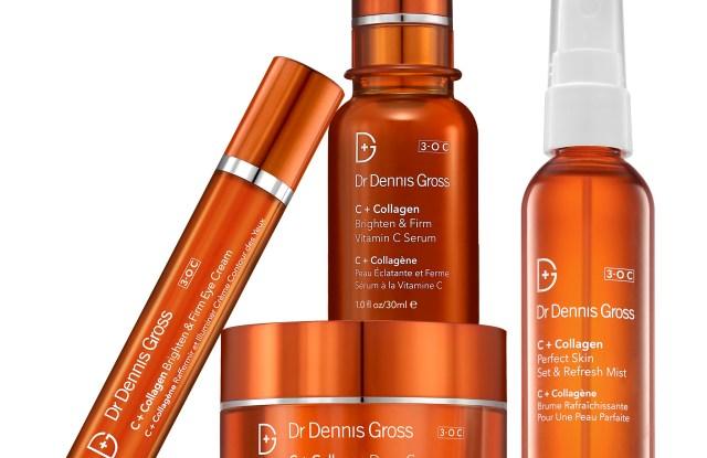 Dr. Dennis Gross C+ Collagen product line.