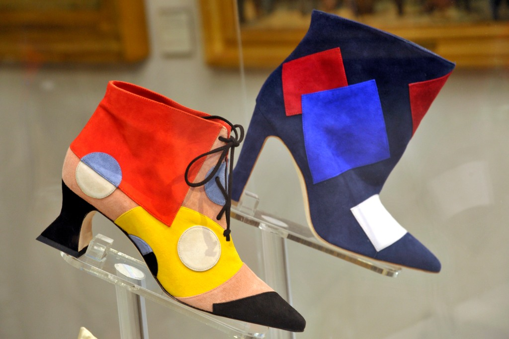 """Manolo Blahnik. The Art of Shoes"" exhibit in Milan."