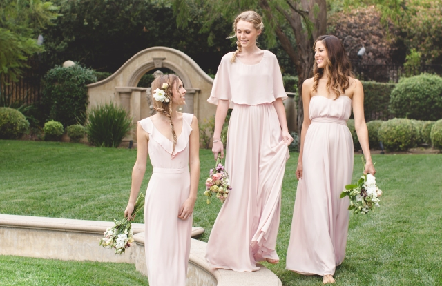 A trio of dresses from Lauren Conrad's collection.