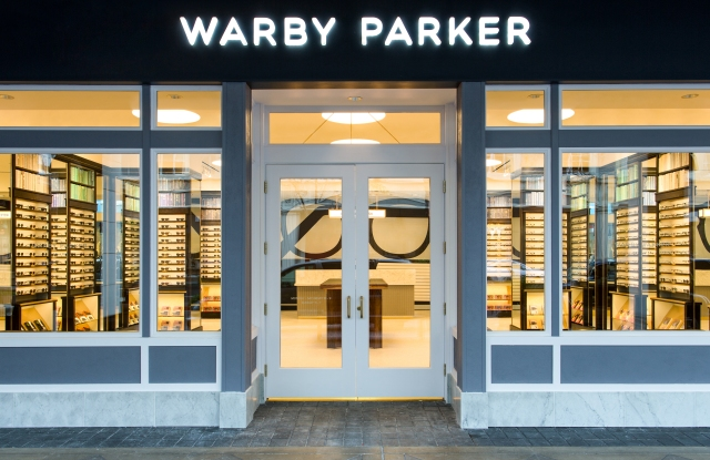 A Warby Parker brick-and-mortar location.