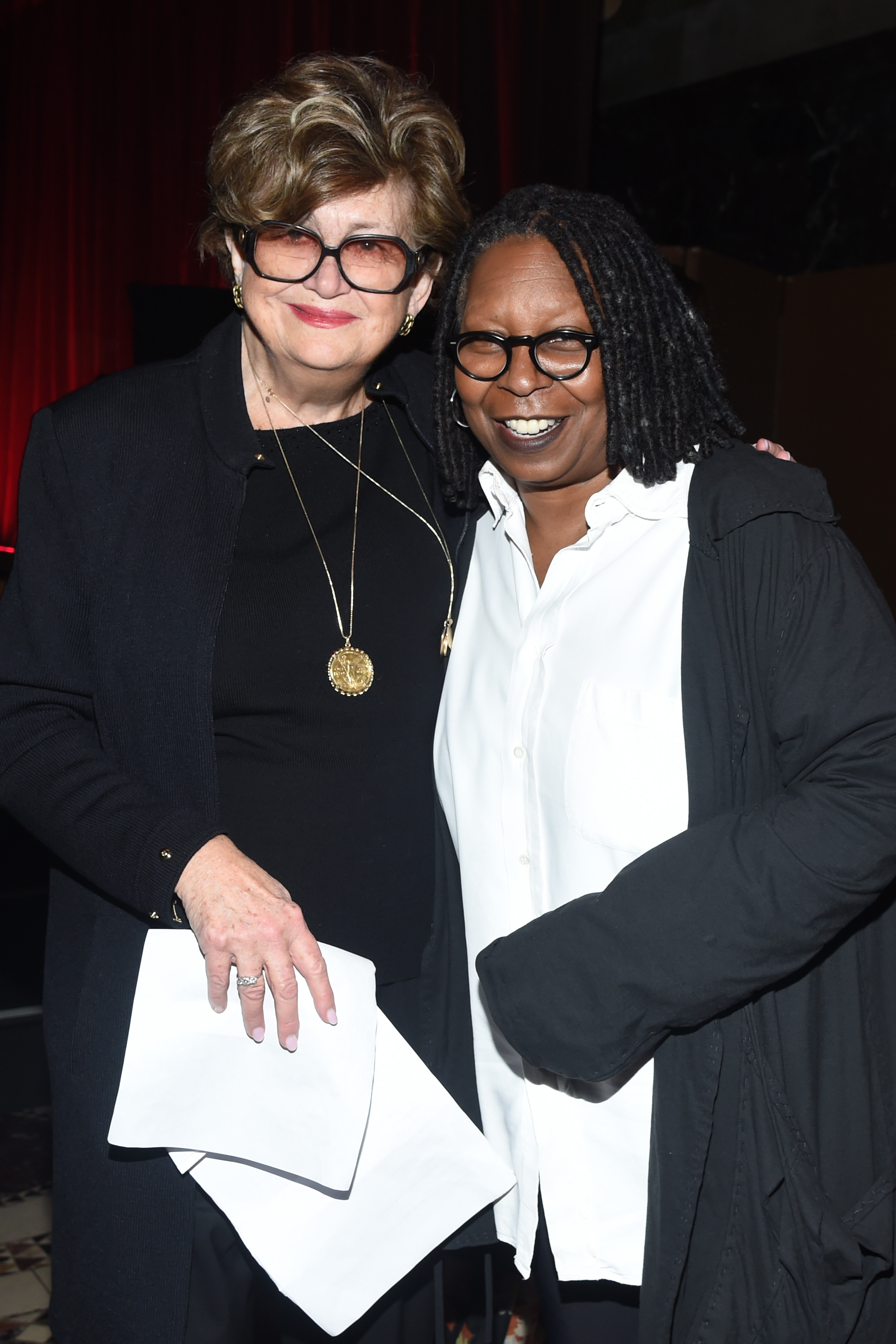 Whoopi Goldberg and Margaret Hayes