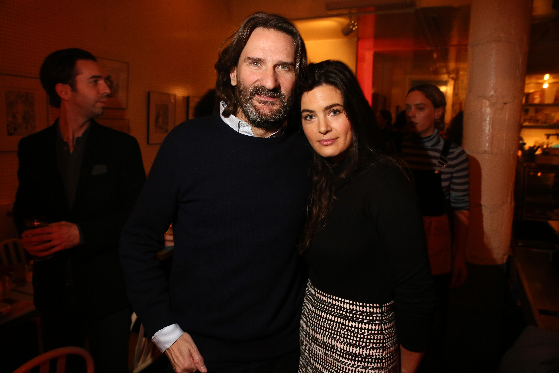 Frédéric Beigbeder and Lara Micheli Beigbeder