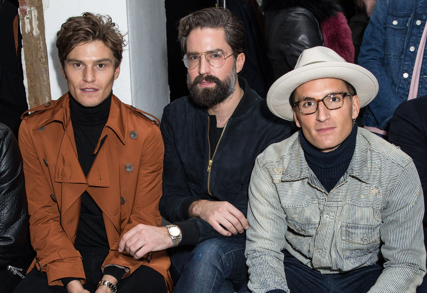 Oliver Cheshire, Jack Guinness and Oliver Proudlock