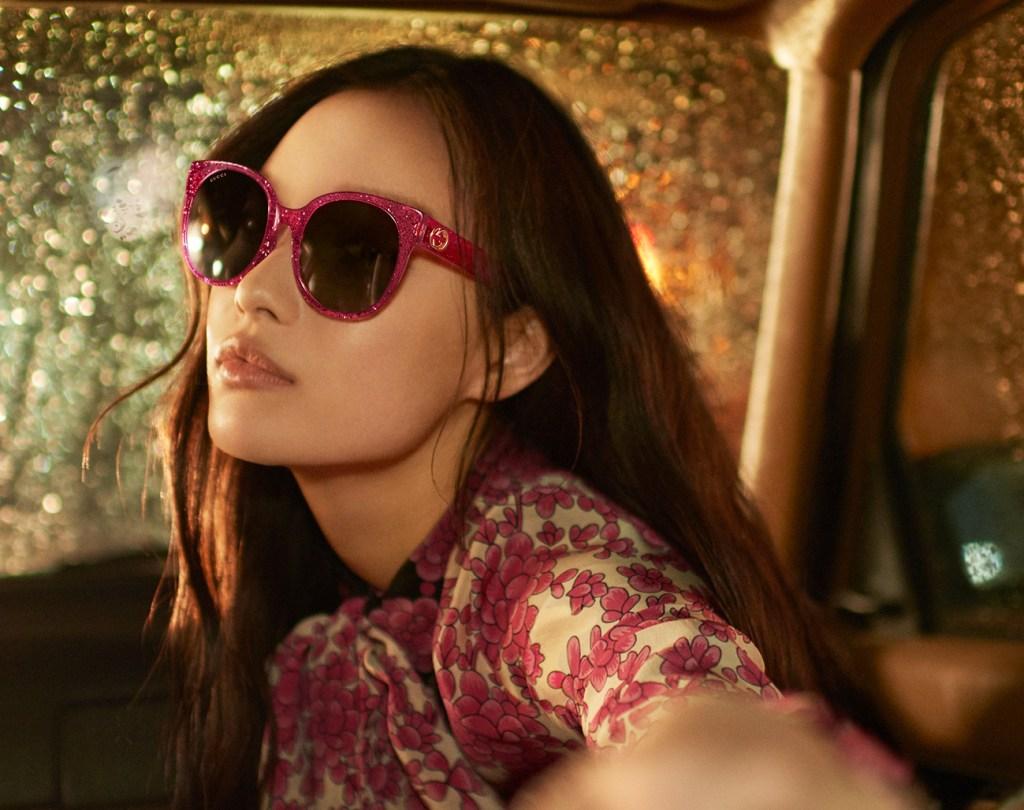 Gucci SS17 eyewear campaign.
