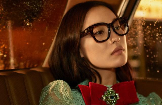 Gucci spring 2017 eyewear campaign.