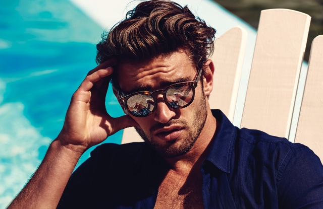 A look from the new sunglass collection.