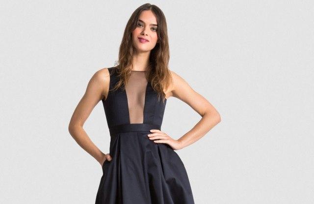 Vaute Couture vegan satin gown