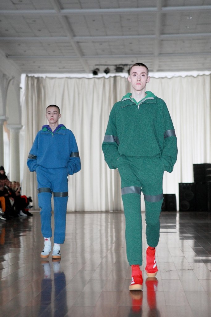 Gosha Rubchinskiy Adidas AW17 show Kaliningrad Russia