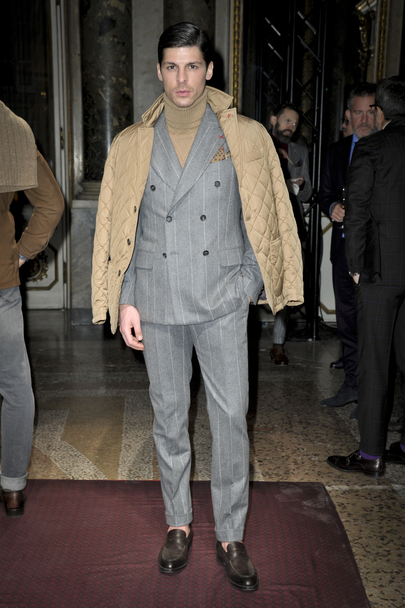 Isaia Men's Fall 2017