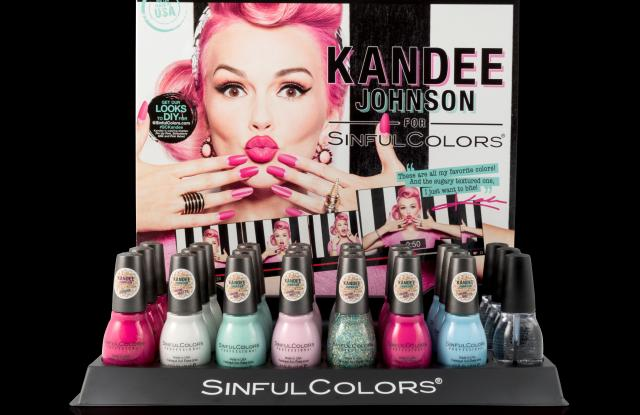 Kandee Johnson created peppy new colors for limited edition collection