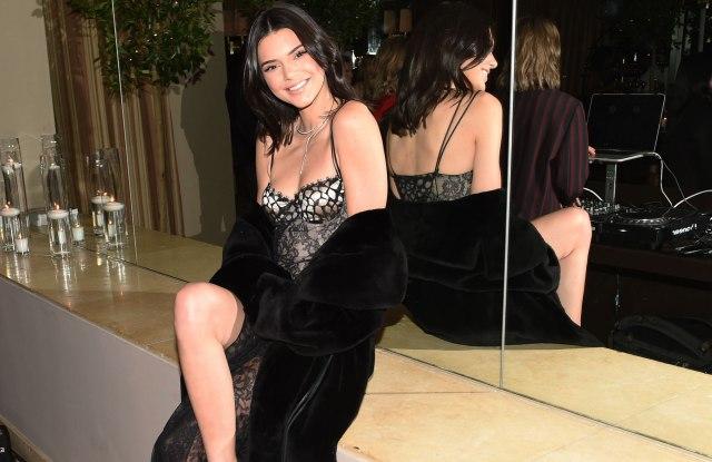 Kendall Jenner in La Perla.