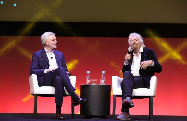 Kip Tindell and Sir Richard Branson