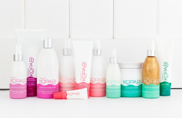 Kopari's product lineup is made with coconut oil from the Philippines and without toxins.
