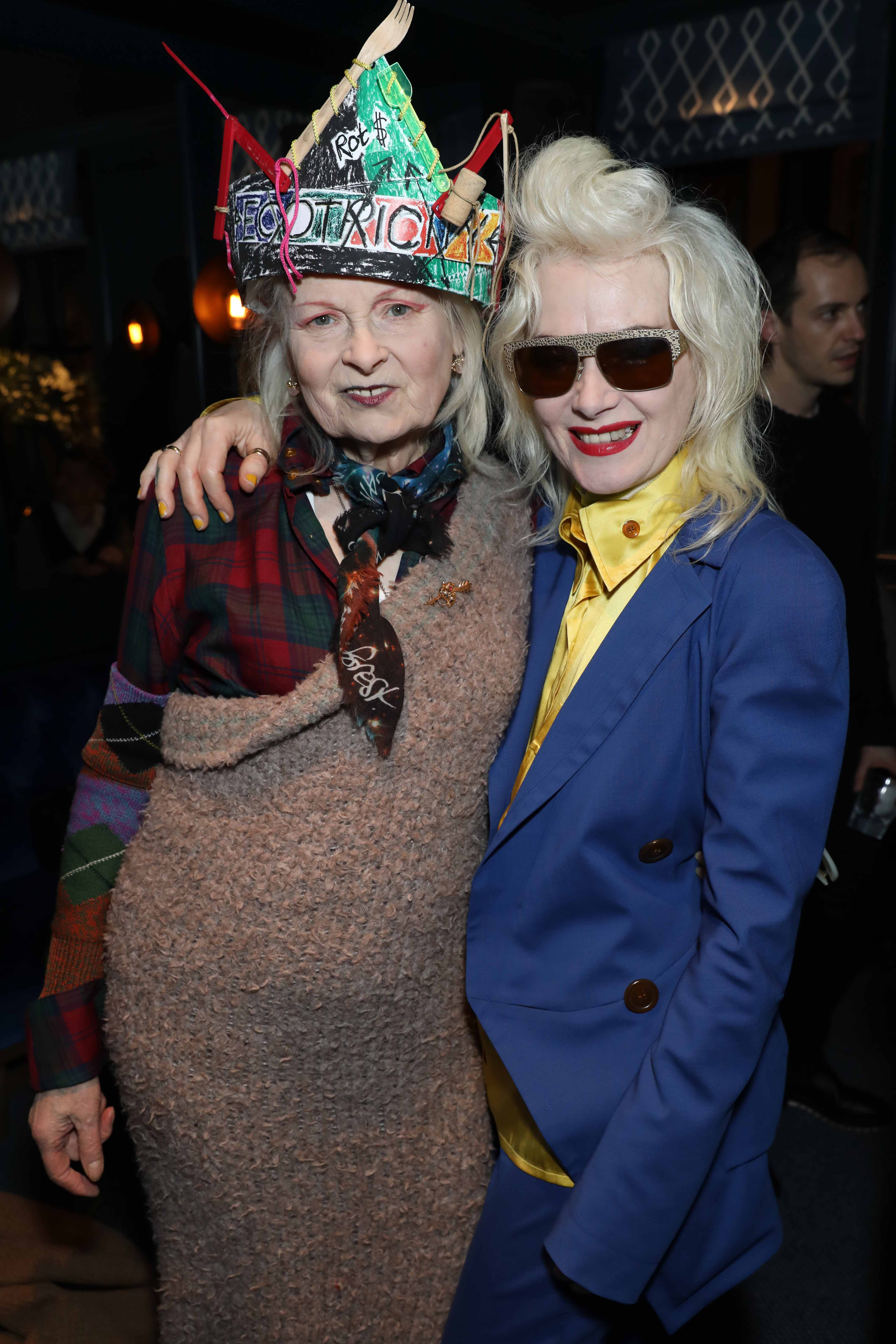 Vivienne Westwood and Pam Hogg