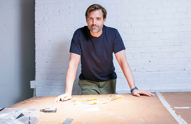 Patrick Grant in his studio.