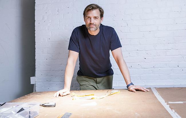 Patrick Grant in his studio.