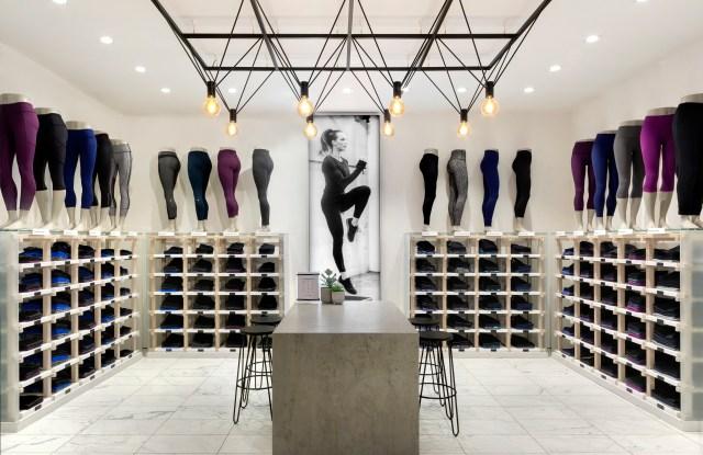 Lululemon flagship store london Regent Street