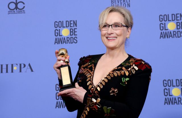 maryl streep golden globes