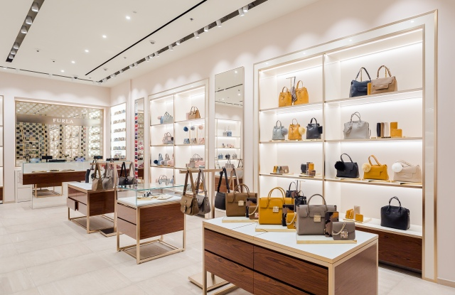 Furla's new Moscow store
