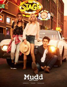 Lauren Riihimaki, Jordyn Jones, Nash Grier in Mudd spring 2017 ad campaign