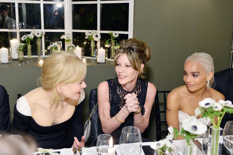 Nicole Kidman, Robbie Meyers and Zoe Kravitz ELLE's Annual Women In Television Celebration 2017