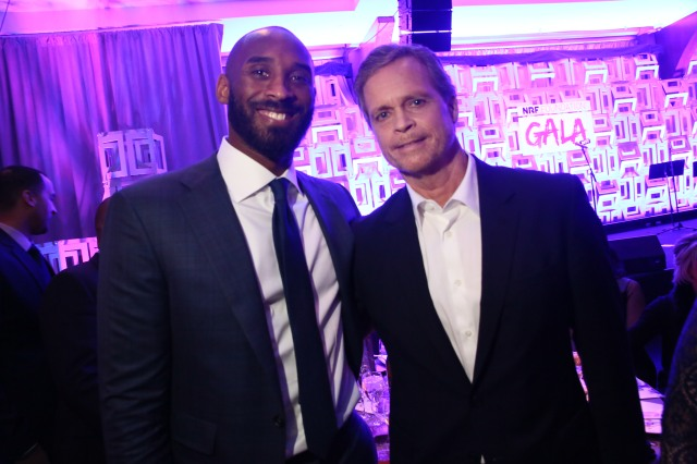 Kobe Bryant and Mark Parker