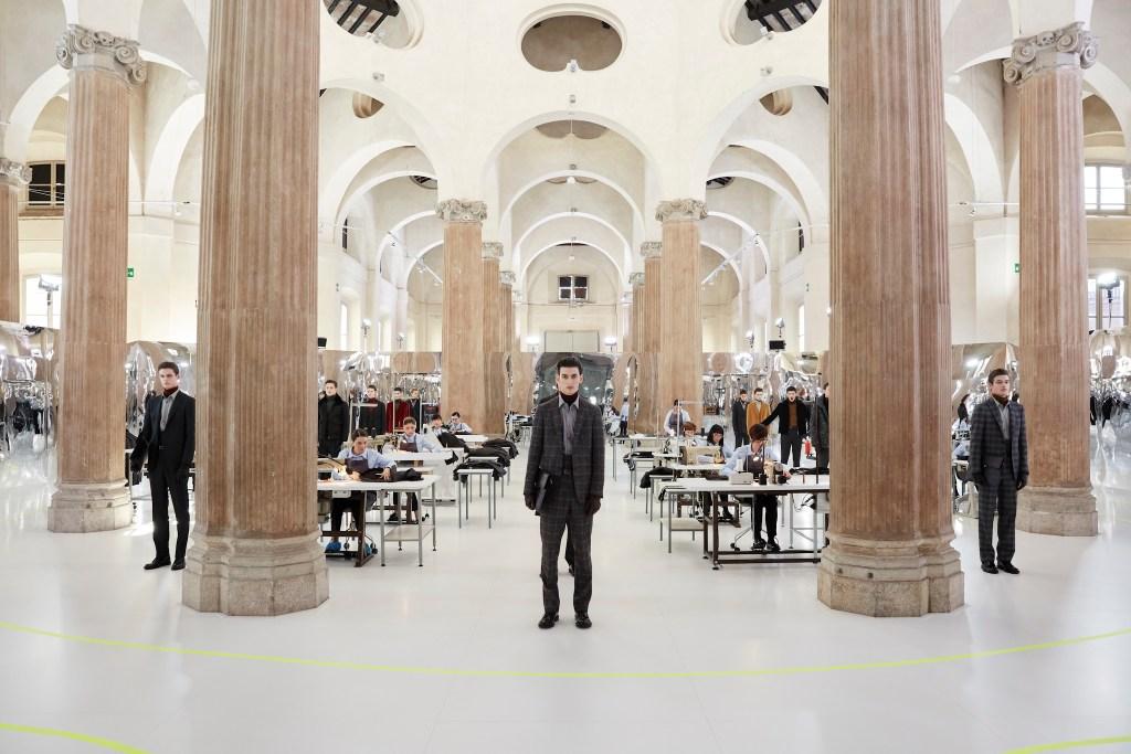 Pal Zileri Presentation at Milano Fashion Week Men's Fall 2017 Men's Fall 2017