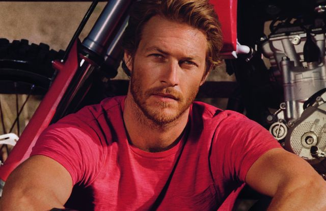 Luke Bracey is the new face of Polo Red.