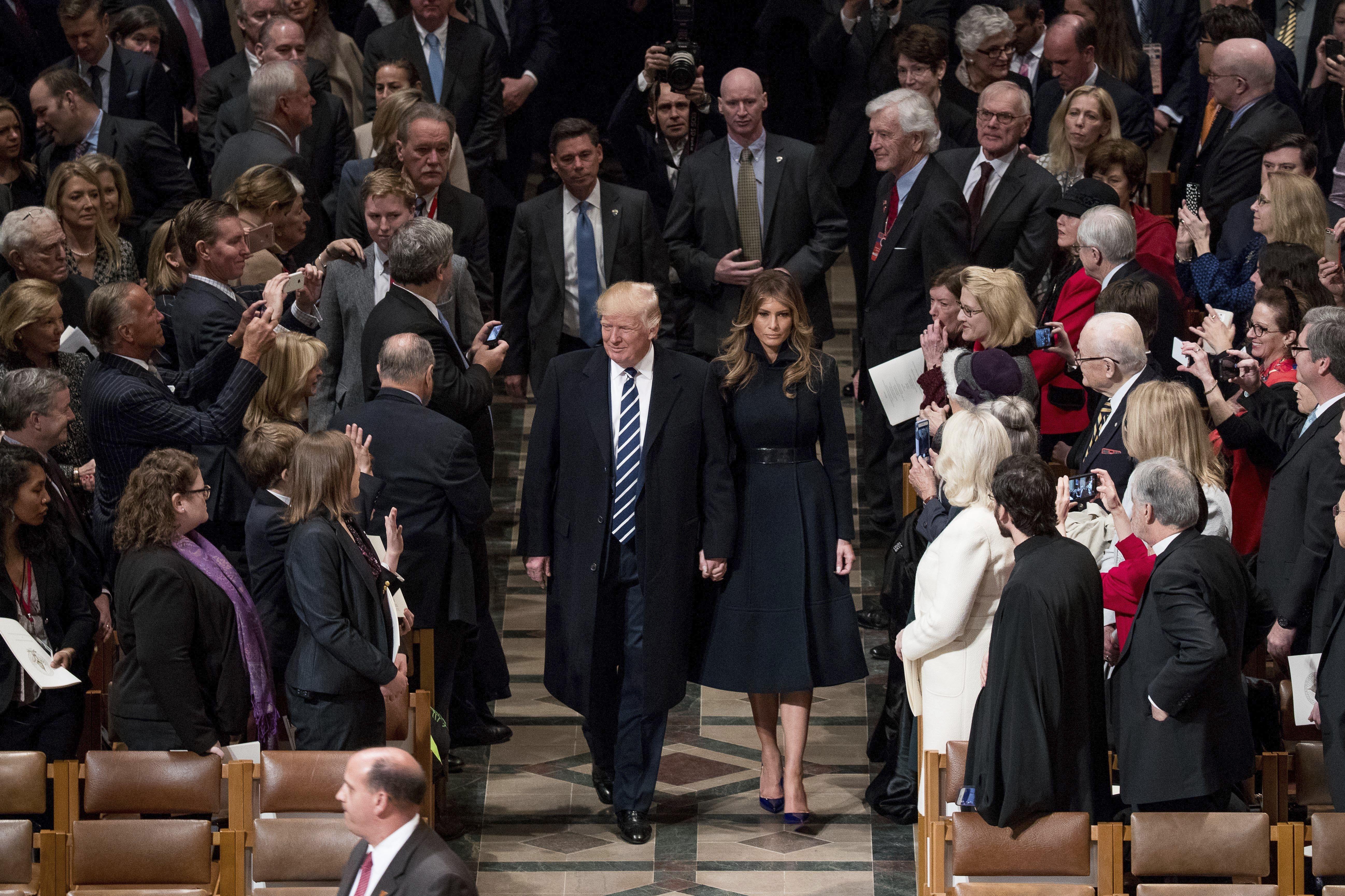 Trump Inauguration Gallery Donald Trump and Melania Trumpc