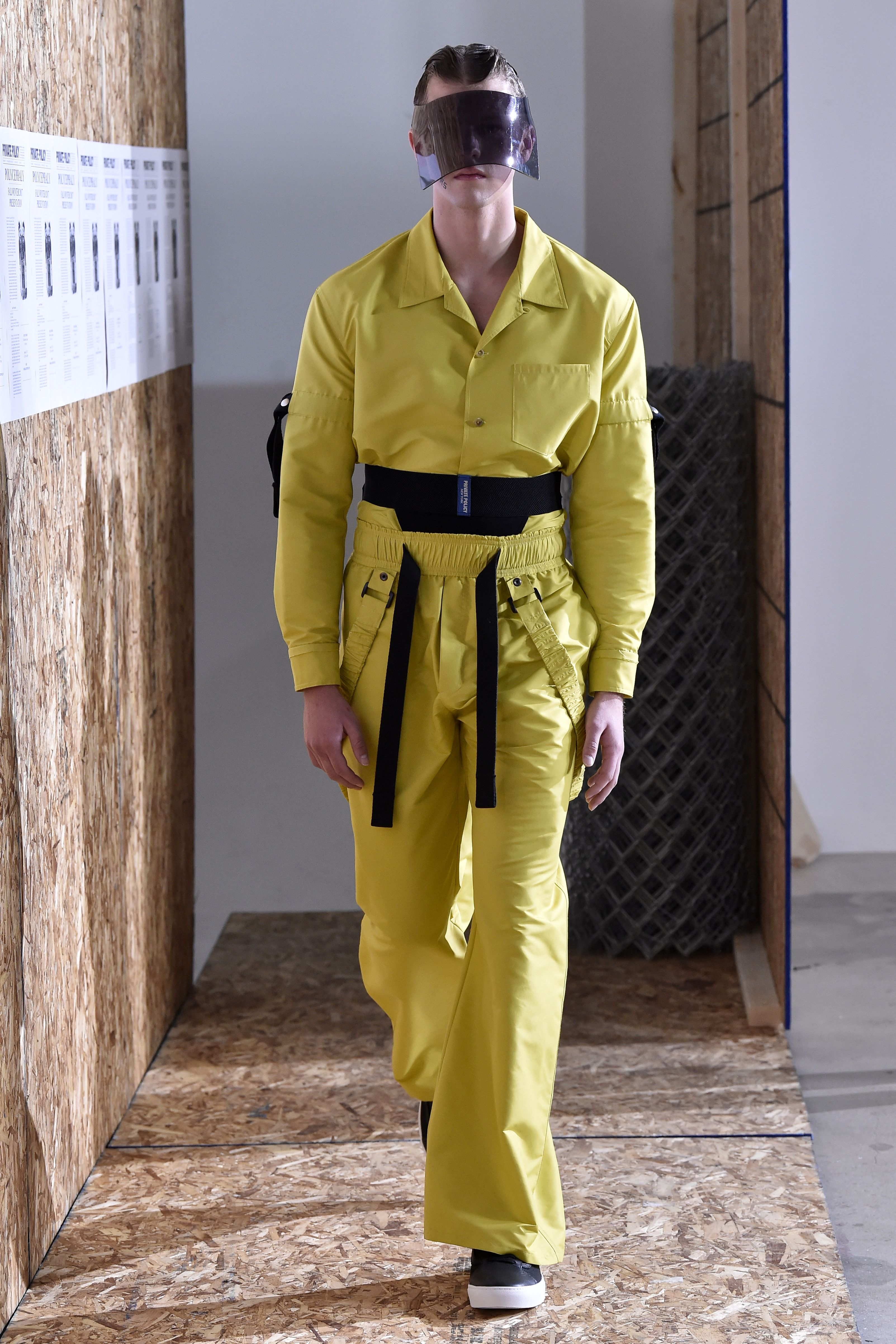 Private Policy Men's Fall 2017