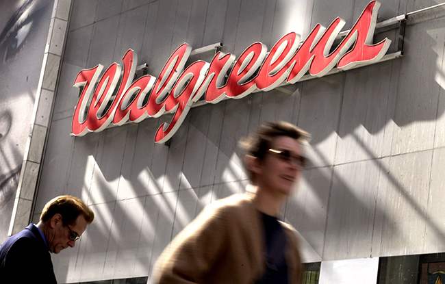 A Walgreens location in New York.