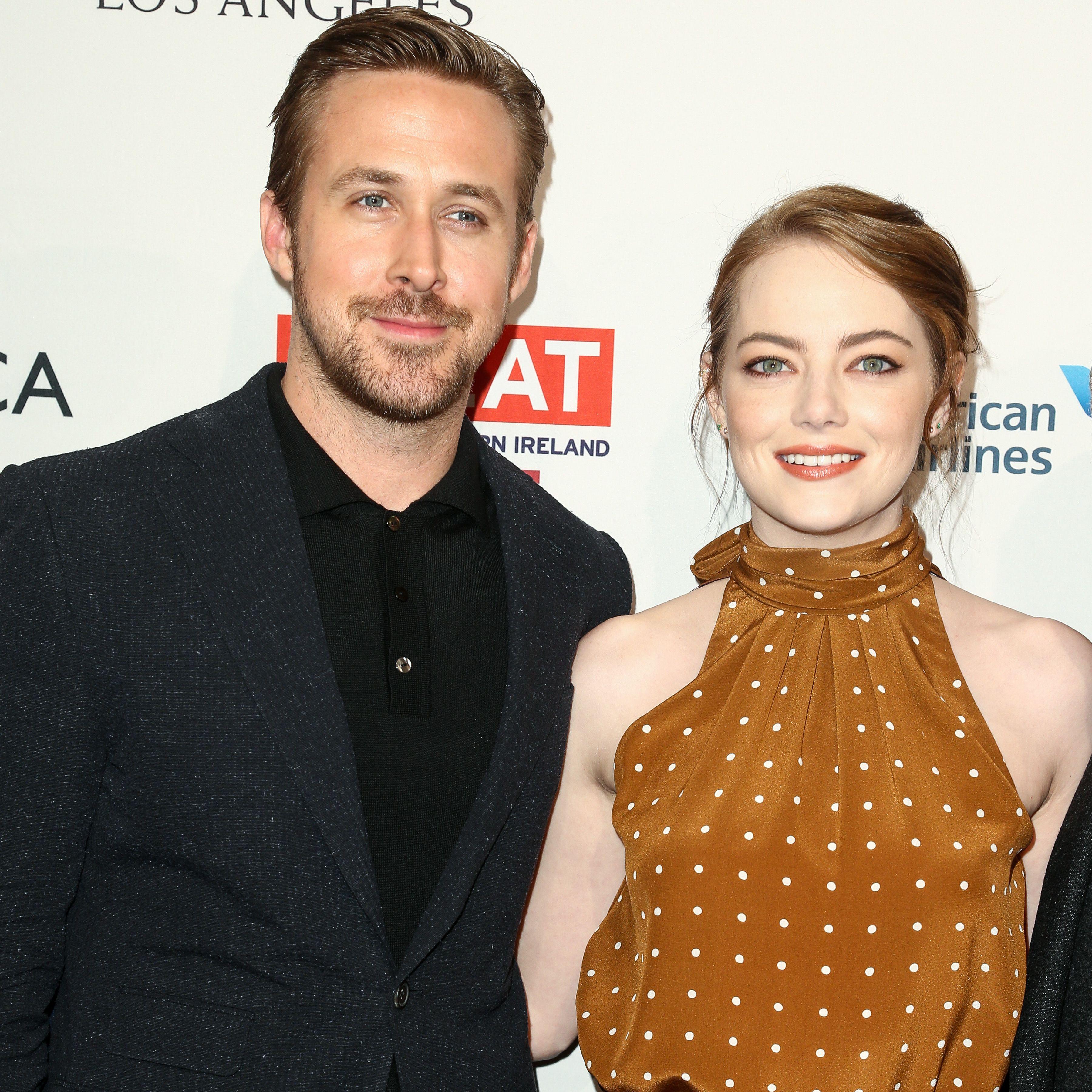 Ryan Gosling and Emma Stone BAFTA LA Tea Party 2017