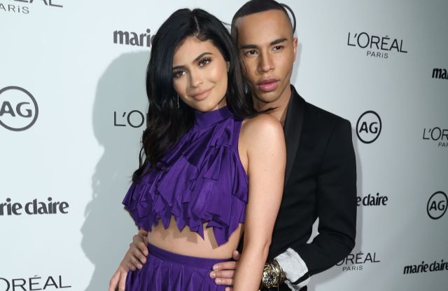 Kylie Jenner and Olivier Rousteing Marie Claire Image Maker Awards 2017