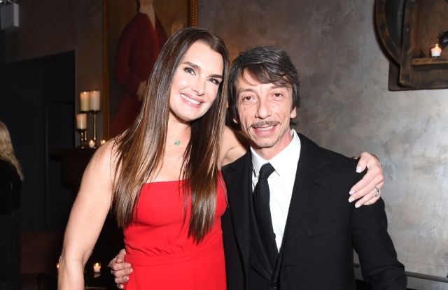 Brooke Shields and Pierpaolo Piccioli.