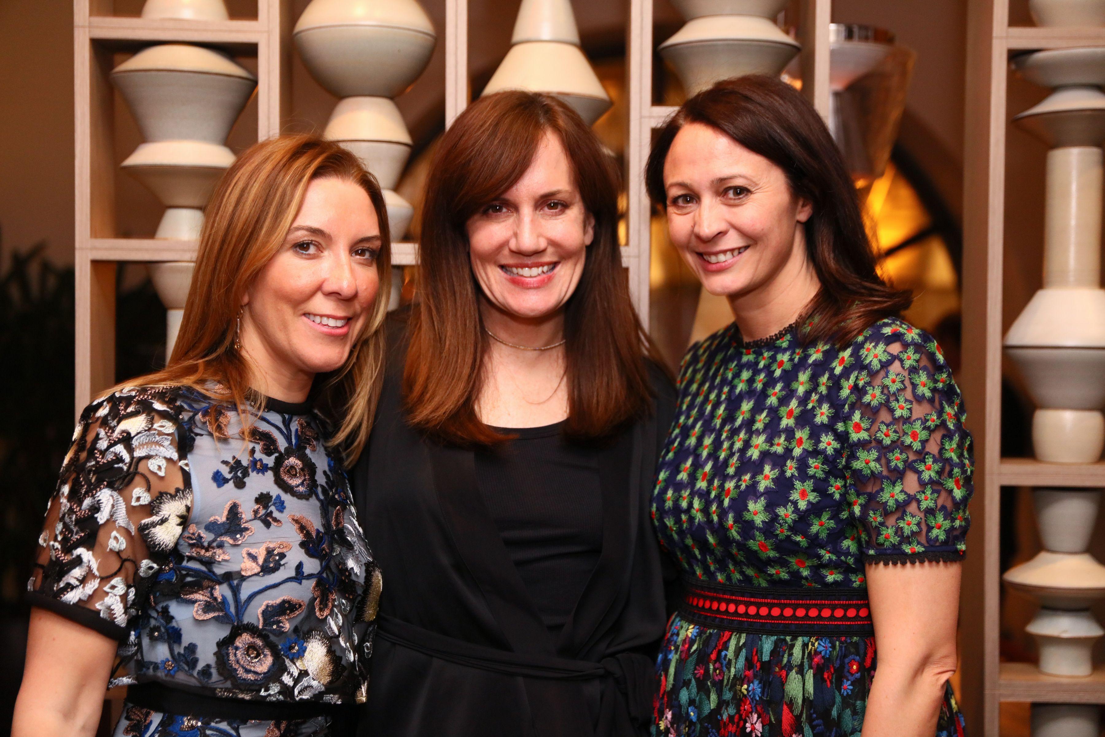 Antonia Romeo, Daniella Vitale, and Caroline Rush.