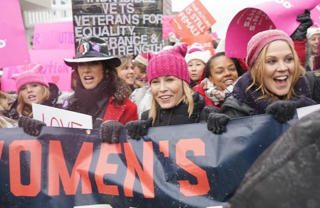 Women's solidarity march, Park City, USA - 21 Jan 2017
