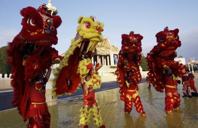 Chinese New Year falls on January 28, 2017.