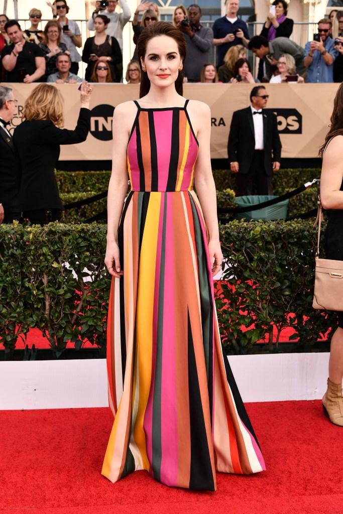 Michelle Dockery SAG Awards Fashion 2017