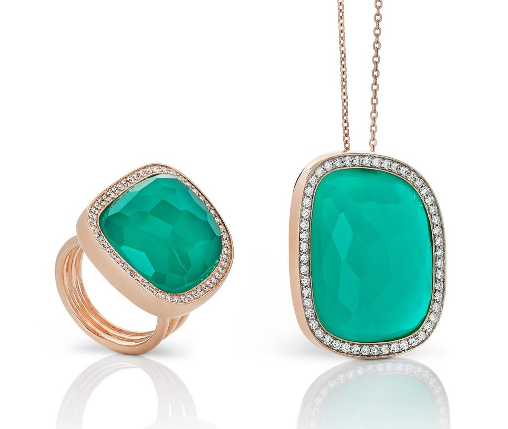 Roberto Coin jade pieces