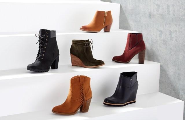 A selection of Shoebuy.com booties.