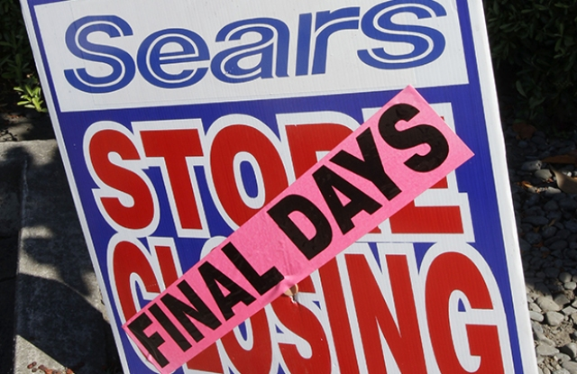 A Sears closing in Mountain View, Calif.