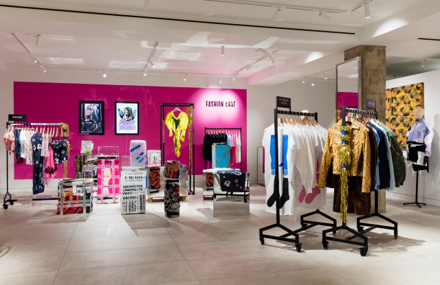 The Fashion East Pop-up store at Selfridges