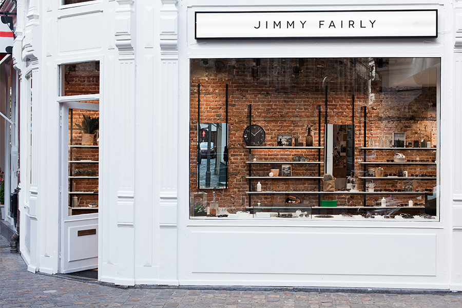 Jimmy Fairly's Lille store