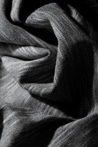 Tessitura Monti's heather gray knit.
