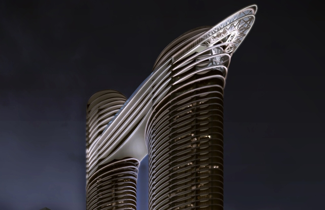 A rendering of what the Dubai club will look like.