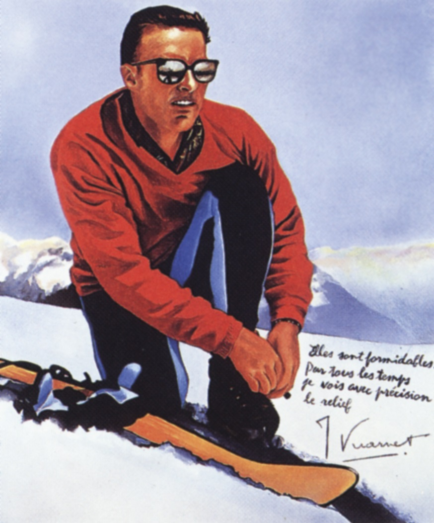 An illustration of Jean Vuarnet
