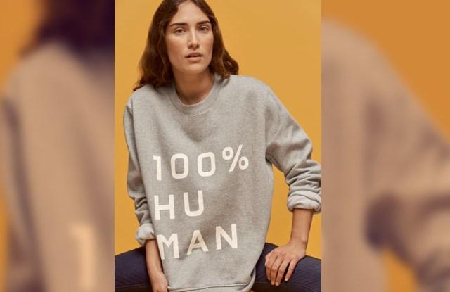 Everlane's 100% Human sweatshirt