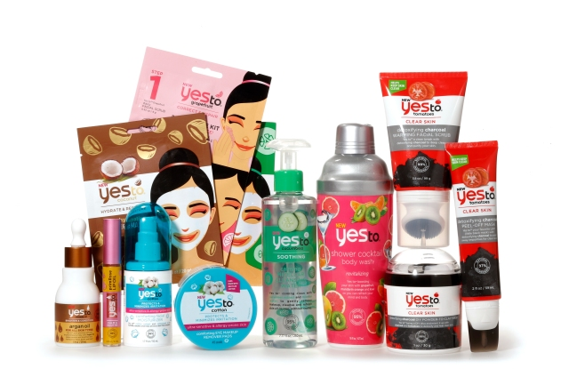 An assortment of new innovations from Yes To.