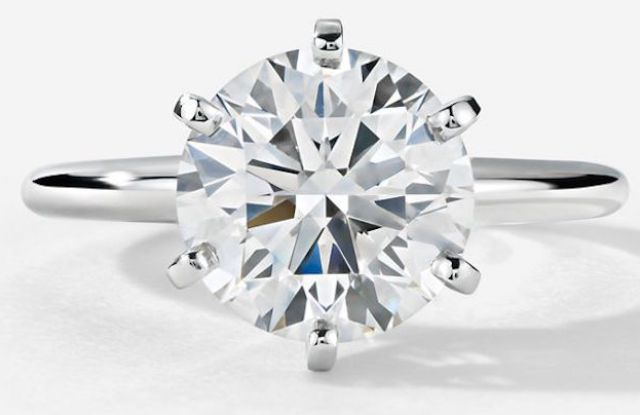 diamond ring, blue nile