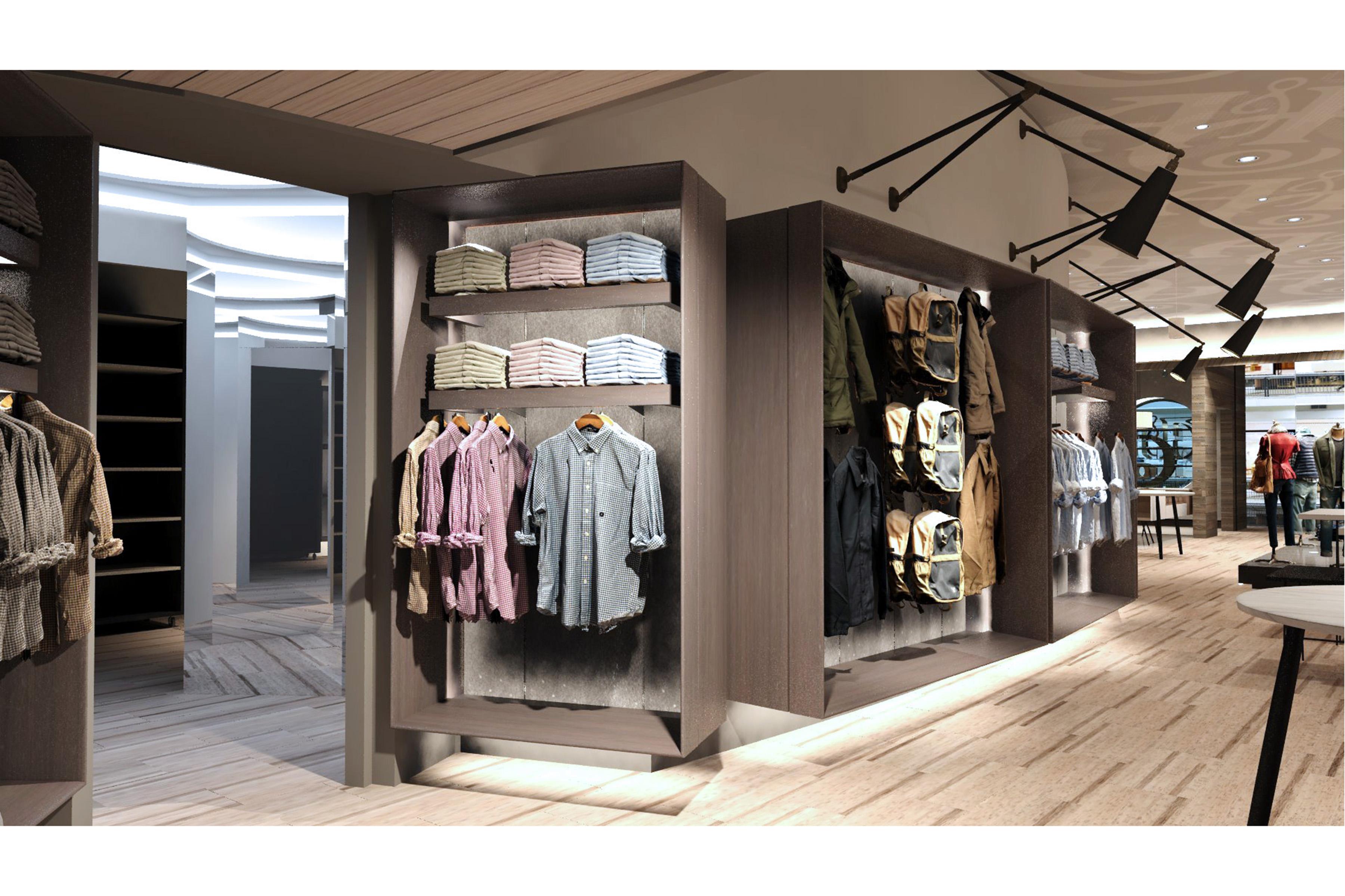 The Abercrombie & Fitch store prototype in Columbus, Ohio.